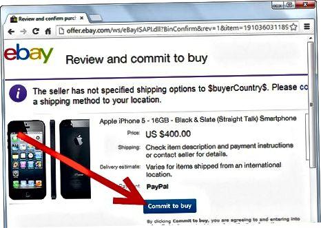PayPal yordamida eBay orqali to'lovlarni amalga oshirish