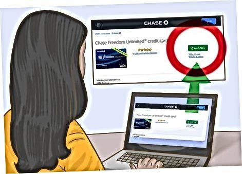 Chase kredit kartasini onlayn ravishda taqdim etish