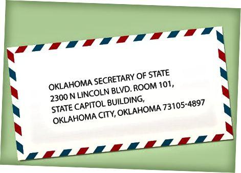 Kandideerimine LLC-sse Oklahomas