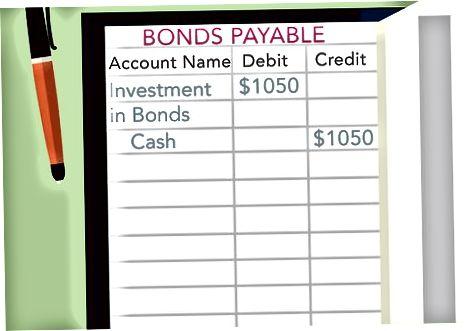 Obligatsiyalarni sotib olish uchun buxgalteriya hisobi
