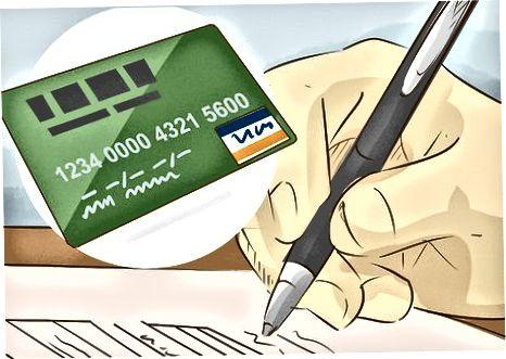 Tagatisega krediitkaardi taotlemine