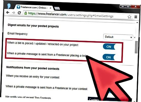 Úprava prvých troch pododdielov e-mailových oznámení