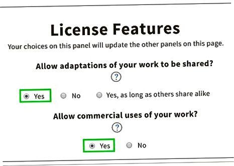 O'zingizning Creative Commons litsenziyangizni olish