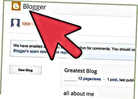 Покрените веб страницу / блог