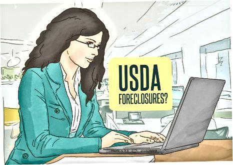 USDA-majburlangan uyni olish