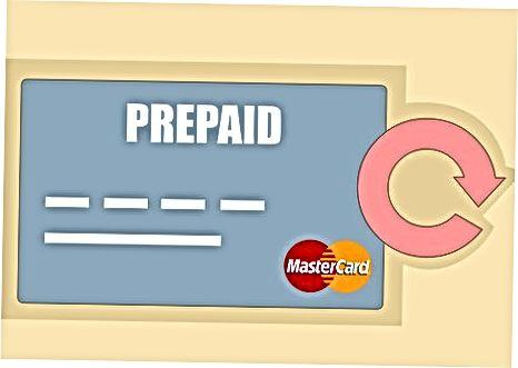 Oldindan to'langan kredit kartani qayta yuklash