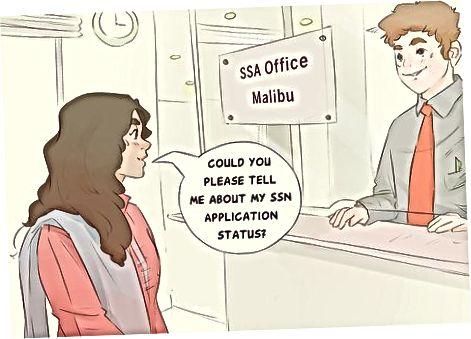 SSA-ning mahalliy ofisiga tashrif