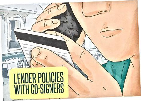 Krediitkaardi saamiseks kaasallkirjastaja kasutamine