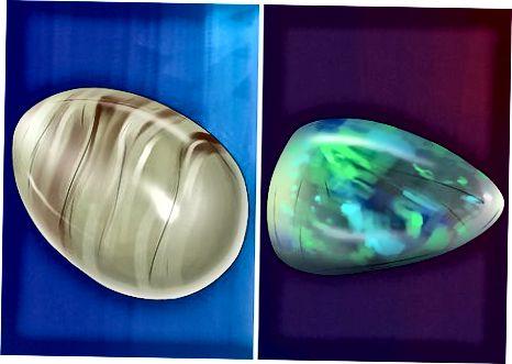 Opal toshlarini baholash
