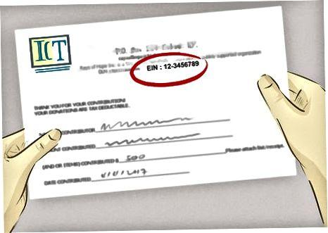 Uchinchi tomonning Federal Soliq ID raqamini topish