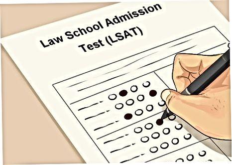 Huquqshunoslik maktabiga kirish testidan o'tish (LSAT)