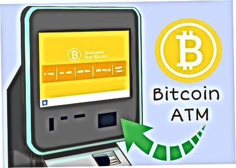 Bitcoin bankomatlaridan foydalanish