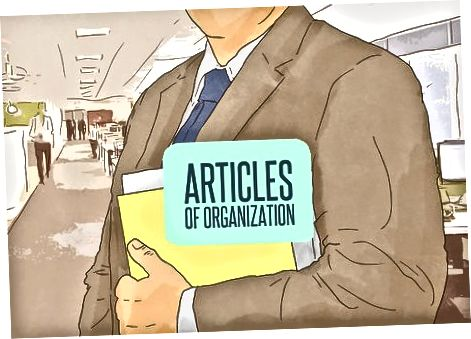 Organisatsiooni põhikirja esitamine