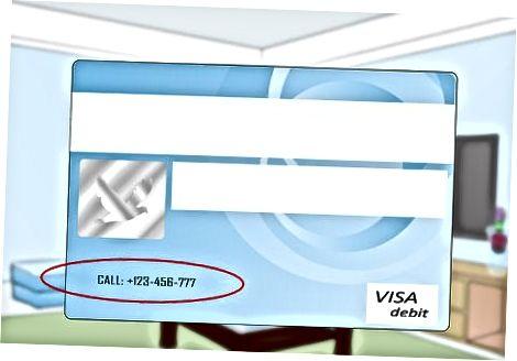 Uchinchi tomon xizmati bilan kredit kartani qayta ishlash