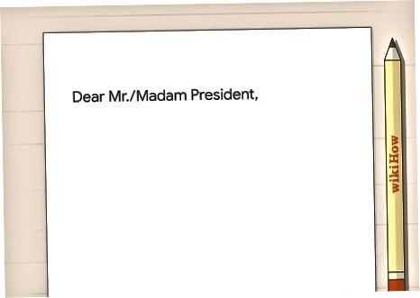 Prezidentga xat yuborish