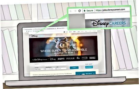 Kandideerimine Disneylandi