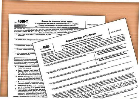 W-2-de hankimine IRS-ist