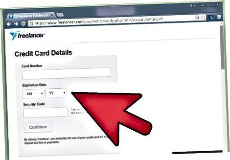 Overuje sa vaša kreditná karta