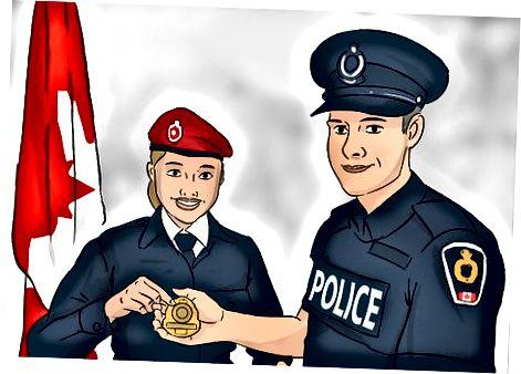 Kanada qirollik politsiyasiga qo'shilish