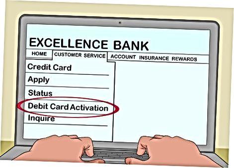 Bank orqali kartani faollashtirish