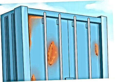 Yuk tashish konteynerini tekshirish