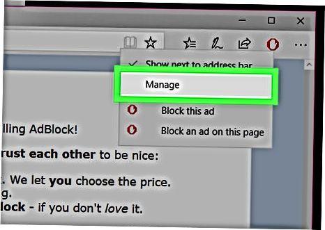 Microsoft Edge-da