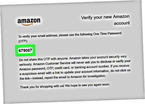 Amazon veb-saytidan foydalanish