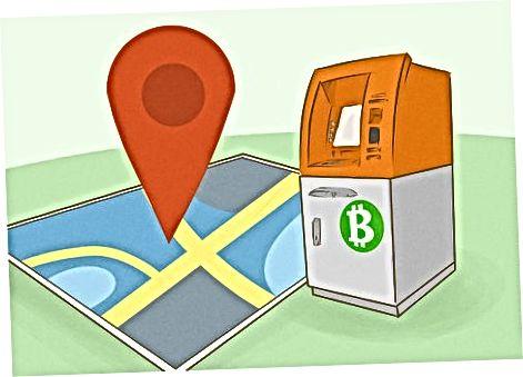 Bitcoin bankomati yordamida