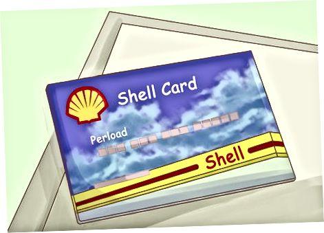 Poe või bensiini krediitkaardi hankimine