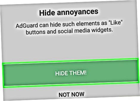 Androidda AdGuard-dan foydalanish