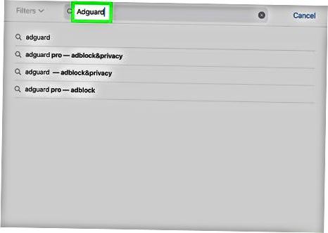 IPhone va iPad-da AdGuard-dan foydalanish