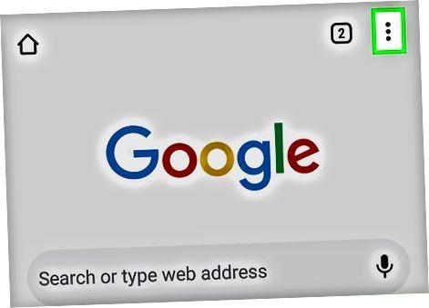 Android-da Google Chrome-dan foydalanish