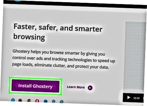 Ghostery Tracking Blocker-ni kompyuterga o'rnatish
