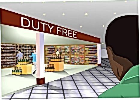Duty Free mahsulotlarini sotib olish
