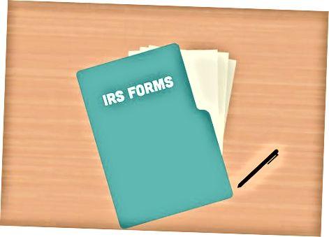 IRS 1040 shaklini to'ldirishga tayyorgarlik ko'rilmoqda