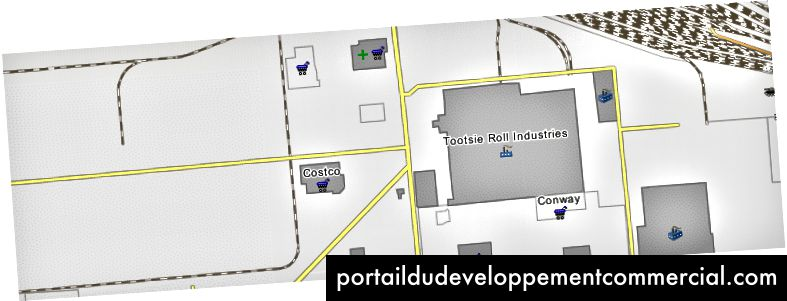 http://wikimapia.org/1896849/Tootsie-Roll-Industries