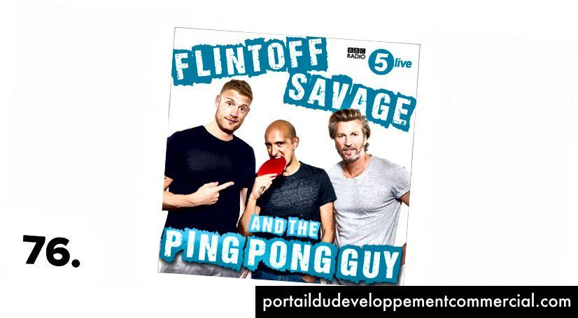 Flintoff, Savage et le type au ping-pong