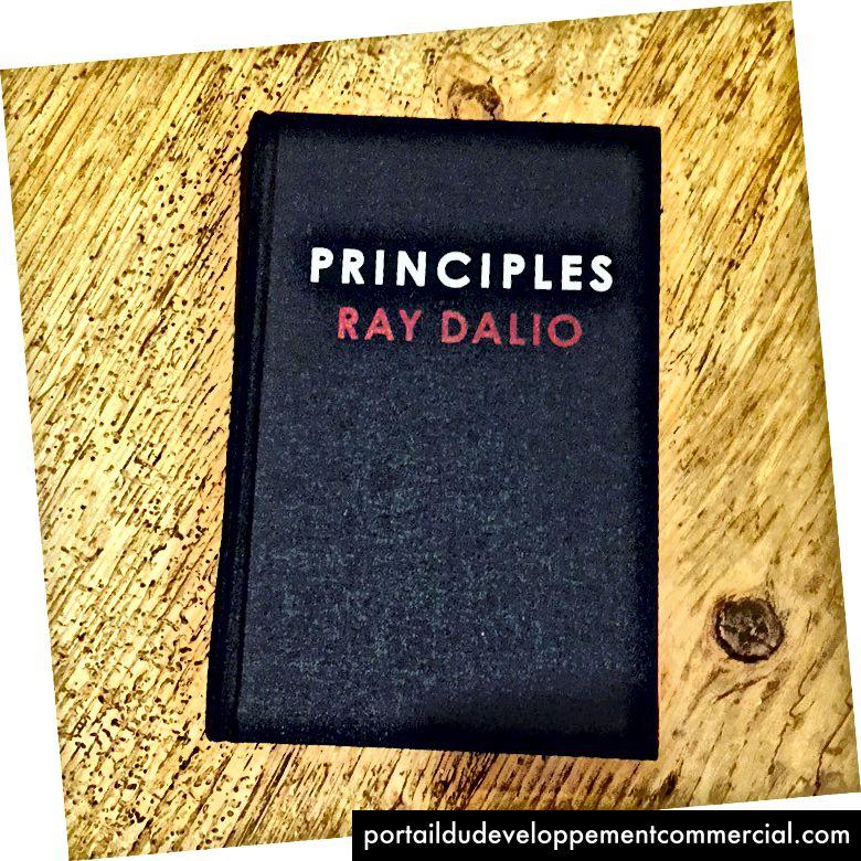 Le nouveau livre à succès de Ray Dalio, Principles