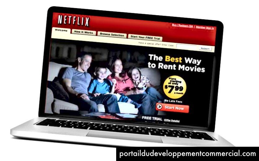 Le site non membre de Netflix (2006)