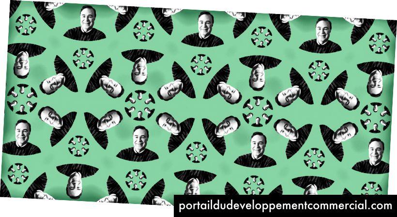 लैरी स्मर कहते हैं कि तकनीक ने माइक्रोबायोम के बारे में नई अंतर्दृष्टि को खोल दिया। (निक वॉके द्वारा चित्रण; रोजडेल / विकिपीडिया के फोटो सौजन्य)