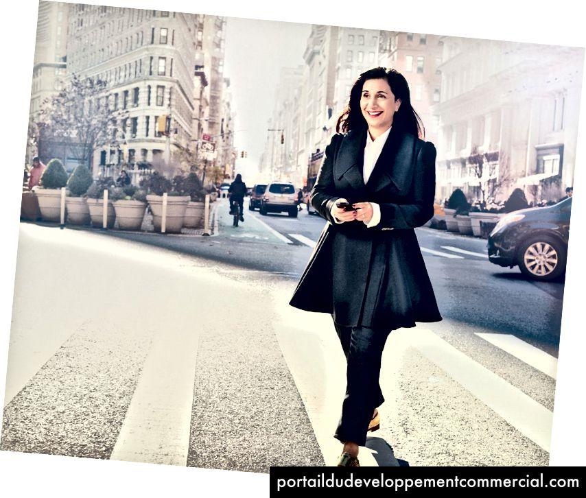 उद्योग विघटनकर्ता नैन्सी ल्यूबेल्स्की, संकट टेक्स्ट लाइन संस्थापक। (फोटो क्रेडिट: ग्लैमर पत्रिका)