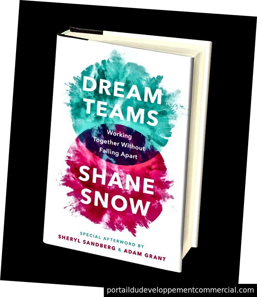 Shane Snow est l'auteur du livre à paraître salué par la critique, Dream Teams. Réservez votre copie aujourd'hui!