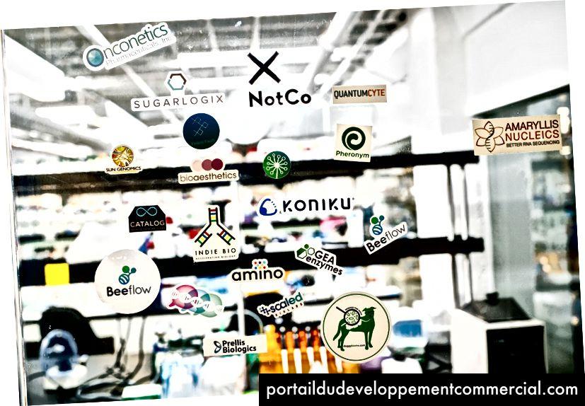 Les startups qui sont venues du programme laissaient leurs marques.