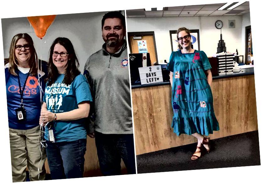 アンドレアラベン(左)とタラウィルキンス(右)はどちらも、DeKalb郡の最新の「Excellence in Education」賞の受賞者に選ばれました。