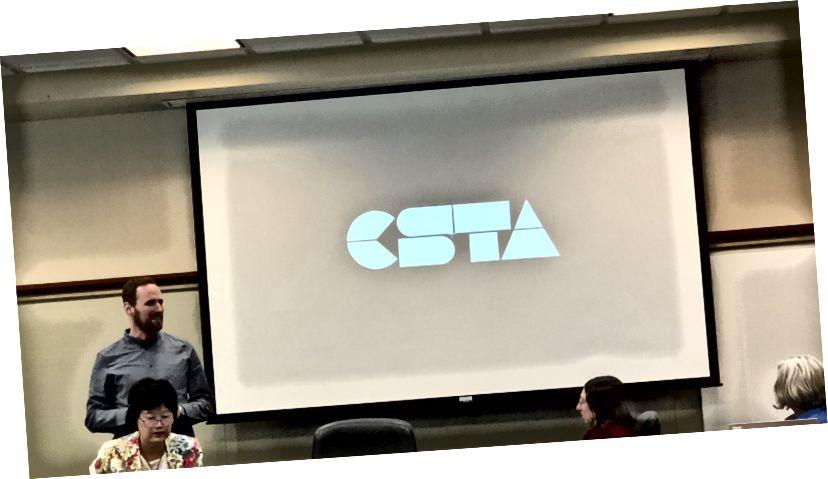 Jake Baskin fra CSTA deler sin vision.