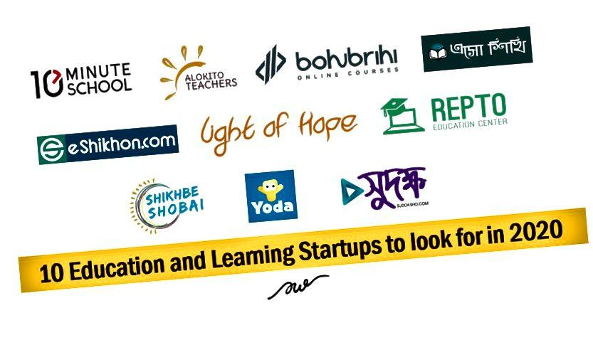 10 Startups und Initiativen für Bildung und Lernen in Bangladesch, die 2020 gesucht werden sollen