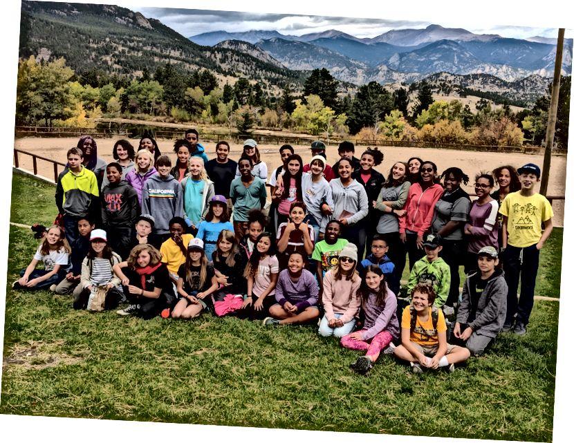 St. Elizabeth's Middle School Trip, Herbst 2018. Foto mit freundlicher Genehmigung von Ramsay Stabler