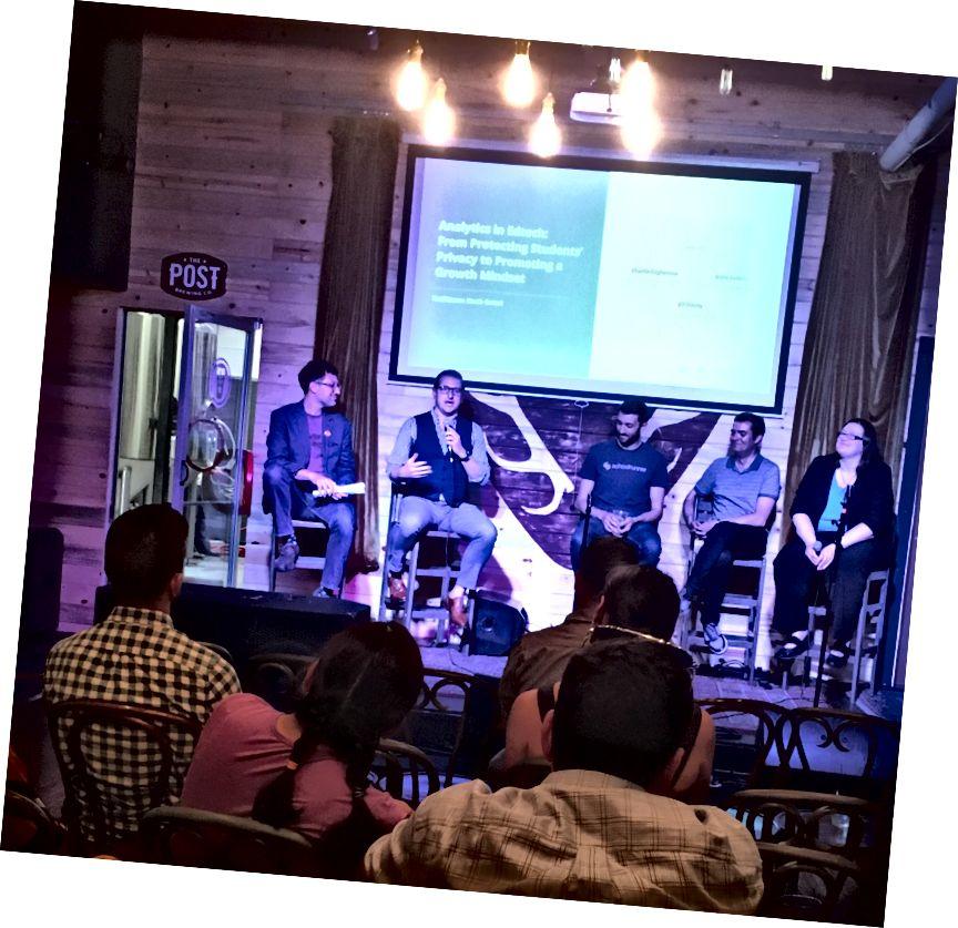 Letztes Panel habe ich moderiert. Bildnachweis: Tara Gilboa