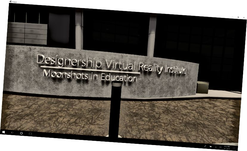 Los estudiantes Omid Mahdavi y Farrukh Malik se han dado cuenta de su proyecto de legado de la luna. Diseñaron y desplegaron la primera escuela de realidad virtual completa y ahora están en el proceso de crear un marco y un proceso de acreditación con expertos. Este proyecto está inspirado en el neurocientífico Designership Moonshots in Education, Freedom Cheteni, quien creó el primer programa de realidad virtual en Silicon Valley.
