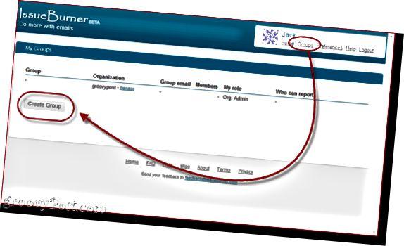 IssueBurner: Správa úkolů prostřednictvím e-mailu